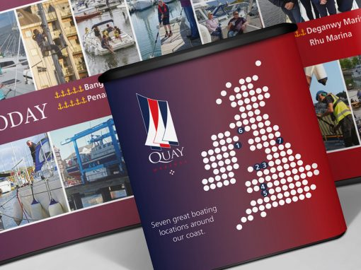 Quay Marina London Boat Show Graphics